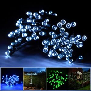 Outdoor Christmas Decorations Rope LED Lights Solar Powered pictures & photos