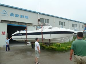 Cabin Cruiser Yacht