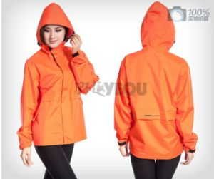 High Quality Fahsion Plastic Ladies Raincoat