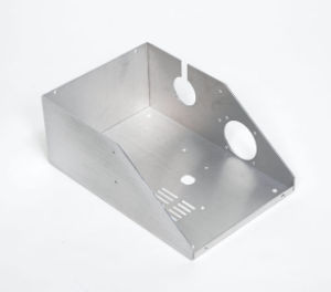 High Precision Stamping Aluminum Covers with Anodized Finish pictures & photos