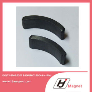 High Quality Customized Arc Permanent Ferrite Magnet for Motors pictures & photos