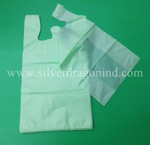 Low Price Standard Size Eco-Friendly Biodegradable Bio-Based Shopping Bag pictures & photos