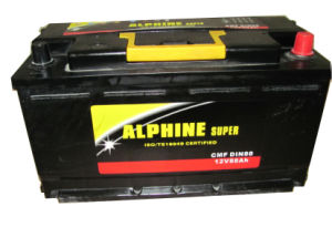 Mf Car Battery DIN88 Mf/ Wet Car Battery of High Quality pictures & photos
