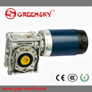 Nmrv 12V 24V 48V High Torque Worm Gearbox with DC Motor pictures & photos