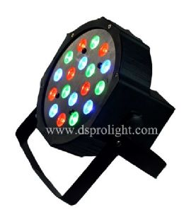 Hot Cheap LED Flat PAR Cans Light 18PCS 3W