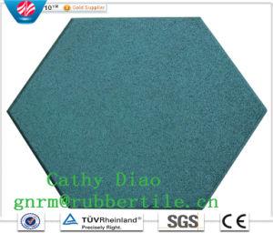 Colorful Rubber Paver Tile, Interlocking Rubber Tiles, Children Rubber Flooring Tile Rubber Stable Tiles pictures & photos
