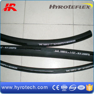 High Pressure Hydraulic Rubber Hose (SAE 100R12/DIN EN856 4SH) pictures & photos