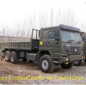 Sinotruk 6X6 All Wheel Drive Cargo Truck Green Color pictures & photos