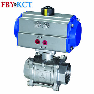 Good Quality Air Actuated Ss Ball Valve
