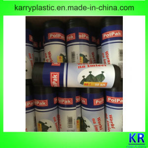 HDPE Star-Sealed Bags Flat Bags pictures & photos