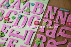 3D Dimensional Handmade Die-Cut Alphabet / Letter Paper Craft Stickers pictures & photos