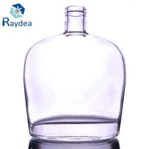 650ml Flint Glass Bottle with Cork Top pictures & photos
