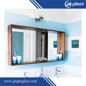 3-6mm Wood Frame Silver Aluminum Decorative Mirror pictures & photos