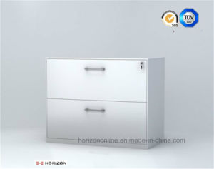Two Drawers Steel Lateral Filing Cabinet pictures & photos