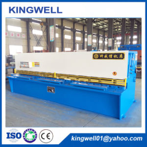 Swing Beam Metal Ironworker Hydraulic Shearing Machine (QC12Y-6X4000) pictures & photos