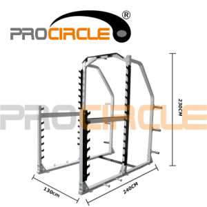 Fitness Equipment Commercial Half Cage Power Rack Studio Set (PC-PC1001) pictures & photos