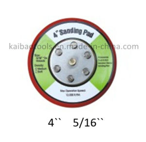 4in Abrasive Sanding Disc Plate pictures & photos