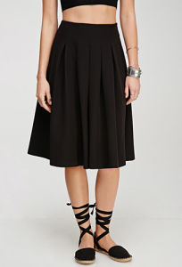 Popular Hepburn Wind A-Line Ladies′ Pleated Skirt for Women pictures & photos