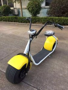 Bike Cheap Two Wheels City Scooter 1000W Long Range Adult Electric Scooter, Electric Motorcycle with Aluminum Rims pictures & photos