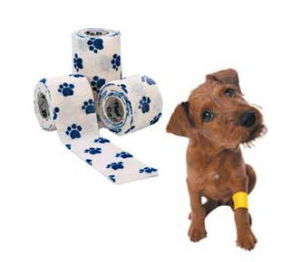 High Quality Low Price Veterinary Dog Animal Pet Veterinary Used Elastic Adhesive Camouflage Bandage pictures & photos