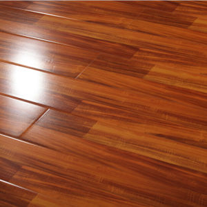 12mm Waterproof High Glossy Laminate Flooring pictures & photos