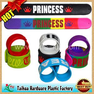 Fashion Silicone Slap Bracelet Wristband Band (TH-6968) pictures & photos