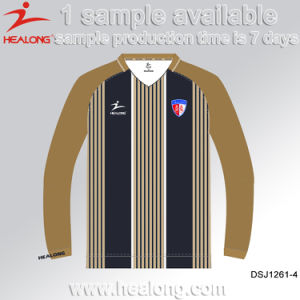 Healong Retro Fully Sublimated Wholesale Blank Uniform Shirt Football Jerseys pictures & photos