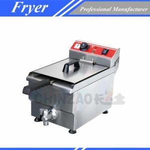 10ltable Electric Deep Fryer/Commercial Fryer/Electric Fryer (DZL-10V) pictures & photos