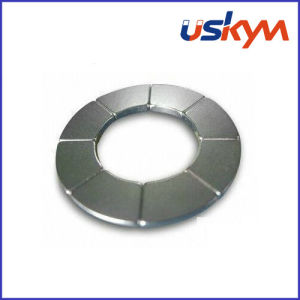 N35h Nickel Arc Neodymium Magnets (A-006) pictures & photos