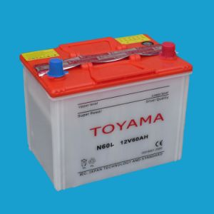 JIS Dry Charged Car Battery 12V60ah pictures & photos