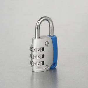 Household Security Aluminium Combination Code Padlock 3 Digital Changeable pictures & photos