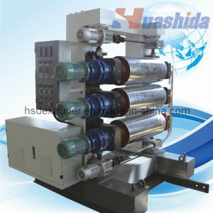 Three Rolls Calender of Plastic Sheets Extrusion Line pictures & photos