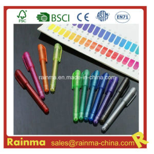 Mini Gel Ink Logo Pen with OEM Color pictures & photos
