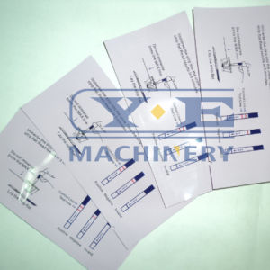 Automatic Three Side Sealing Facial Mask Bag Making Machine pictures & photos