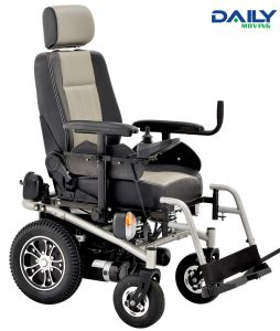 "High Speed Strong Power Electric Wheelchair Dp600 with Big 16"" Wheels pictures & photos"
