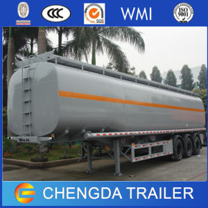 New 3 Axle 12 Tyres Fuel Tank Trailer for Sale pictures & photos