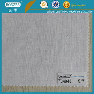 Chinese Buckram Fabric Interfacing Fabric for Dresses pictures & photos