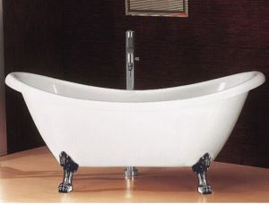 Two Slipper Claw Foot Classical Bathtubs pictures & photos