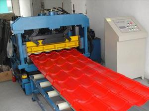 Color Steel Glazed Tile Machine