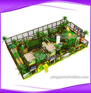 New Indoor Wooden Playground Equipment (3055A)