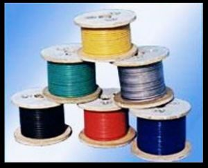 1X19 / 7X7 / 7X19 HDPE / Nylon / PVC Coated S. S. Wire Rope