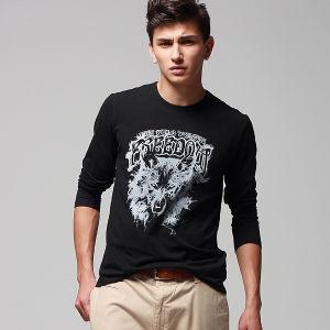 Printed Men′s T-Shirt (CM162)