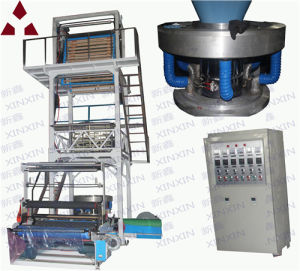 Film Blowing Machine Film Making Machine Film Extrusion Machine Double Winding Rotary Die Head Attached