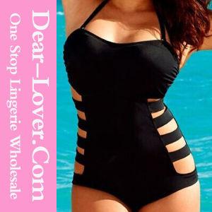 Plus Size Hot One Piece Swim Suit pictures & photos