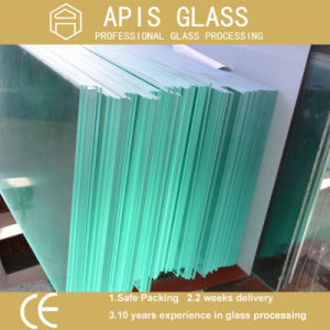 3-12mm Clear/ Low Iron /Frosted Balustrade/Guardrail Toughened Glass pictures & photos