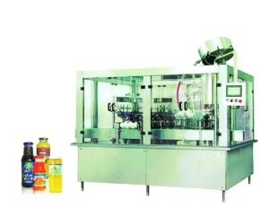 Mango Juice Washing Filling and Capping Glass Bottling Machine