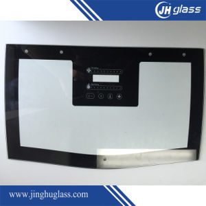 Silk Printing Glass Panels for Range Hood pictures & photos