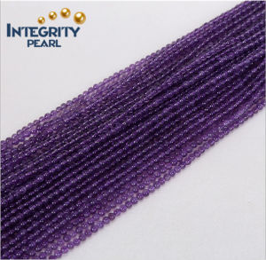 Natural Loose Strands Amethyst Loose Beads Size 2mm 3mm Diamond Shaped Crystal Beads pictures & photos