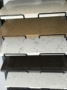 Black Leaf Vain Engineered Quartz Stone for Stepping Stone pictures & photos