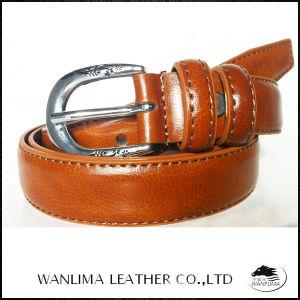 Women′s Fashion Split Leather Belt